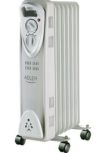 Calorifer electric Adler AD 7807, termostat, 7 elemente, 1500W 0