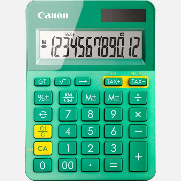 CANON LS-123K CALCULATOR 12 DIGITS 0