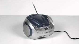 CD/MP3 Player blue Camry, boombox 0