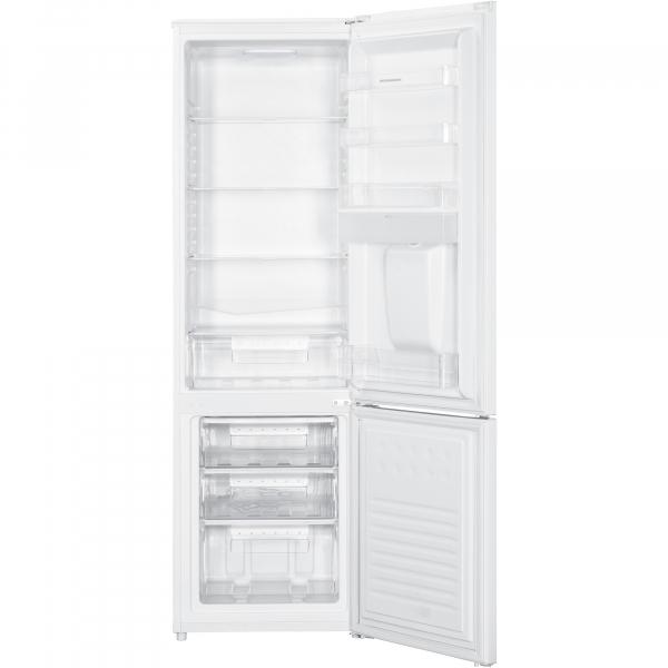 Combina frigorifica Heinner HC-H273WDF+, 260L, Clasa A+, Dozator de apa, Lumina LED, H 176 cm, Alb 1