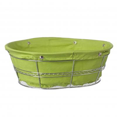 Cosulet metal+ textil rotund verde 0