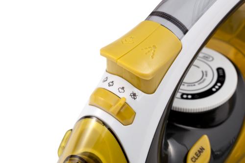 CR5029 Fier de Calcat cu Aburi Camry, Talpa Ceramica, Putere 3000W, Functie Auto-Curatare si Anti-Picurare, Calcare Verticala 6