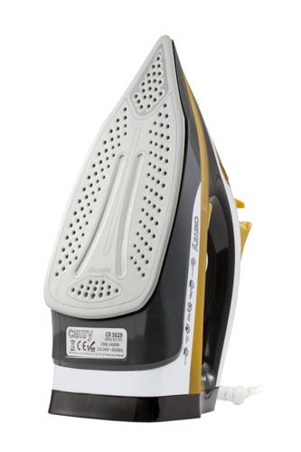 CR5029 Fier de Calcat cu Aburi Camry, Talpa Ceramica, Putere 3000W, Functie Auto-Curatare si Anti-Picurare, Calcare Verticala 3