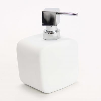 116556  Dispenser ceramic cauciucat sapun alb 0