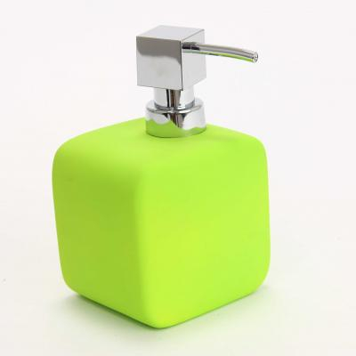 116560  Dispenser ceramic cauciucat sapun verde 0