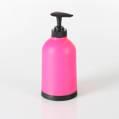 Dispenser sapun roz, H 17.5 cm PP [0]