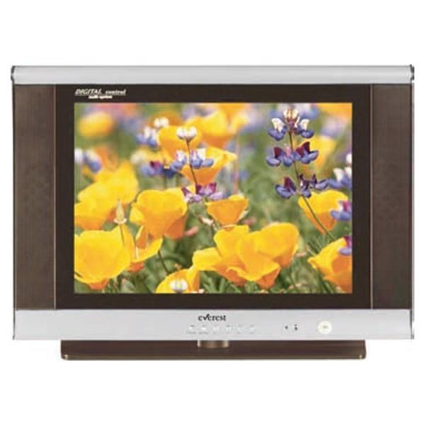 E21N-A8 Televizor CRT cu diagonala de 54 cm,culoare negru-argintiu Everest 0