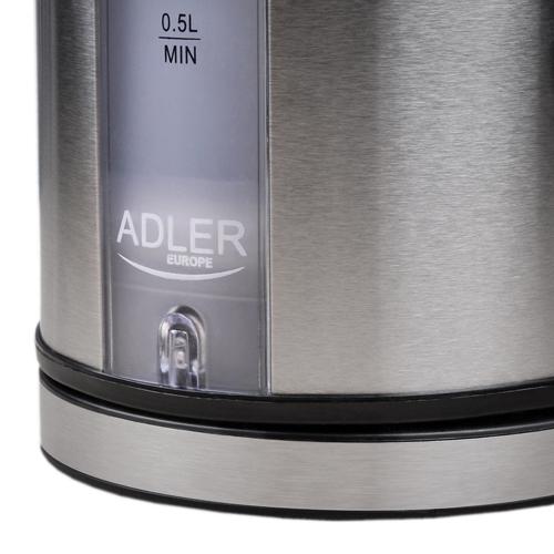 Fierbator Adler AD 1216, 2000 W, 1.7 l, Inox 6
