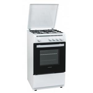 HFSC-V50WH Aragaz Heinner, 4 arzatoare, 50cm, alb 0