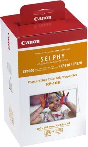 INK CASSETTE / PAPER SET CANON RP108 0