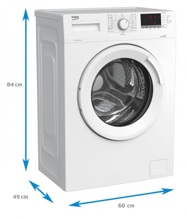 Masina de spalat rufe Beko WUE7512XWW [5]