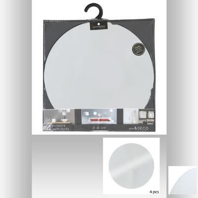 121121B  Oglinda cu adeziv 4buc 30*30cm 0