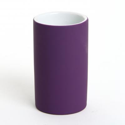 Pahar ceramic cauciucat violet [0]