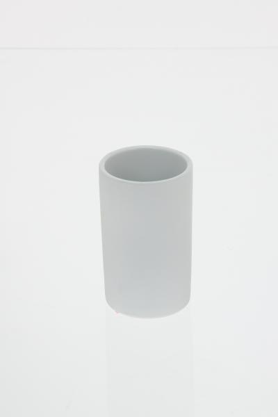 105588  Pahar ceramic cauciucat alb 0