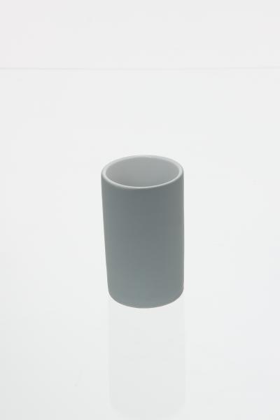 105590  Pahar ceramic cauciucat gri 0