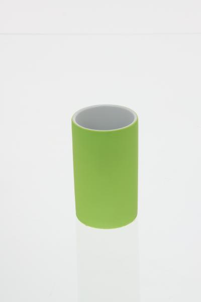 Pahar ceramica cauciucat verde [0]