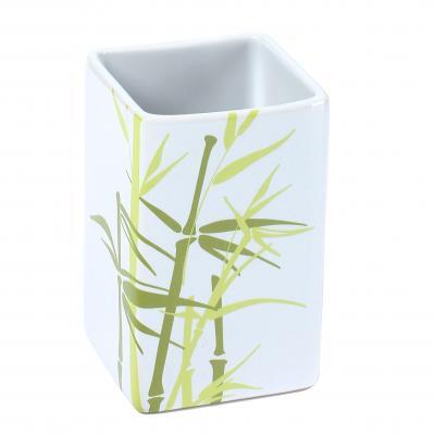 Pahar inscriptie bambus, ceramica - NOU 0
