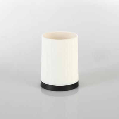 105556  Pahar PP alb, H 10.3 cm 0