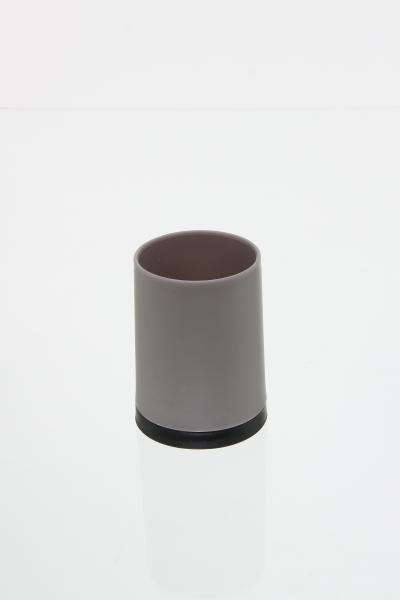 105559  Pahar PP taupe, H 10.3 cm 0