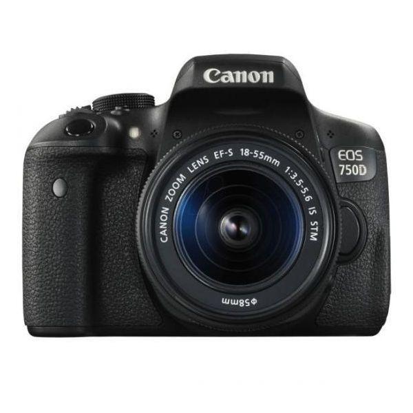 PHOTO CAMERA CANON 750D KIT EFS 18-55 DC 0