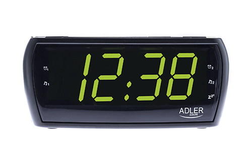 Radio cu ceas si alarma ADLER AD 1121,negru 0