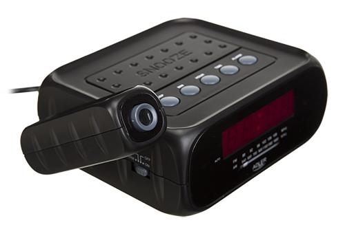 Radio cu ceas si alarma , proiectie laser ADLER AD 1120 ,negru 1