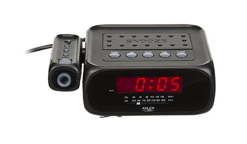 Radio cu ceas si alarma , proiectie laser ADLER AD 1120 ,negru 3