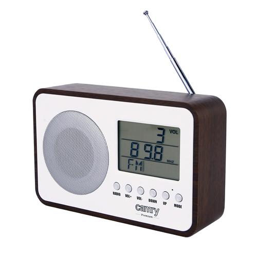 Radio digital Camry CR 1153 , ceas, termometru, alarma, lcd, calendar 0