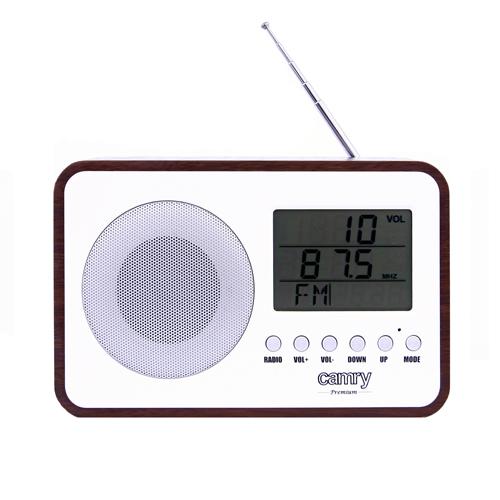 Radio digital Camry CR 1153 , ceas, termometru, alarma, lcd, calendar 1