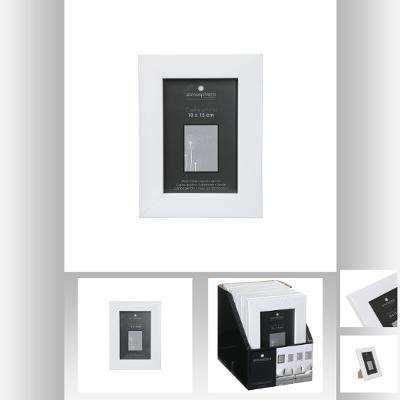 Rama foto alb 10x15 cm 0