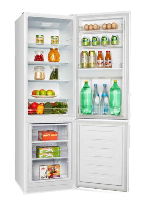 Combina frigorifica Heinner HC-N262WD+, 262 l, Dozator de apa, Clasa A+, H 180 cm, Alb [3]