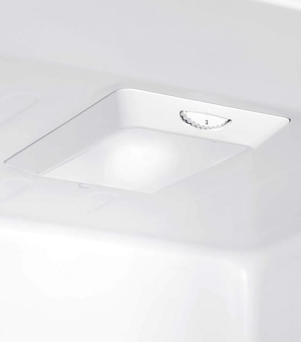 Combina frigorifica Heinner HC-N262WD+, 262 l, Dozator de apa, Clasa A+, H 180 cm, Alb [7]