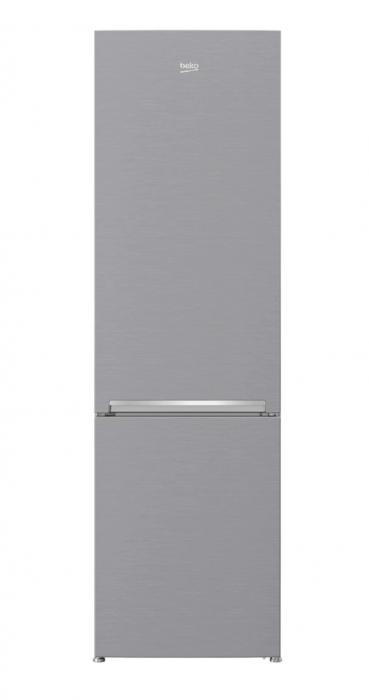 Combina frigorifica Beko RCSA400K30XB, 380 l, Clasa A++, Active Fresh Blue Light, Compartiment 0°-3°C, H 201 cm, Argintiu [0]