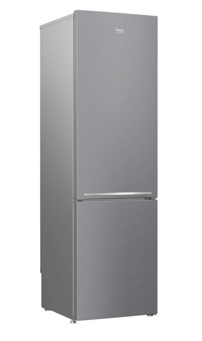 Combina frigorifica Beko RCSA400K30XB, 380 l, Clasa A++, Active Fresh Blue Light, Compartiment 0°-3°C, H 201 cm, Argintiu [2]