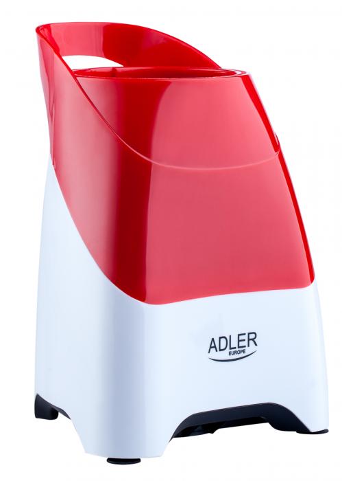 AD4054 Mini Blender Smoothie Adler, 250 W, 1 viteza, 0.6 l, rosu/alb [2]