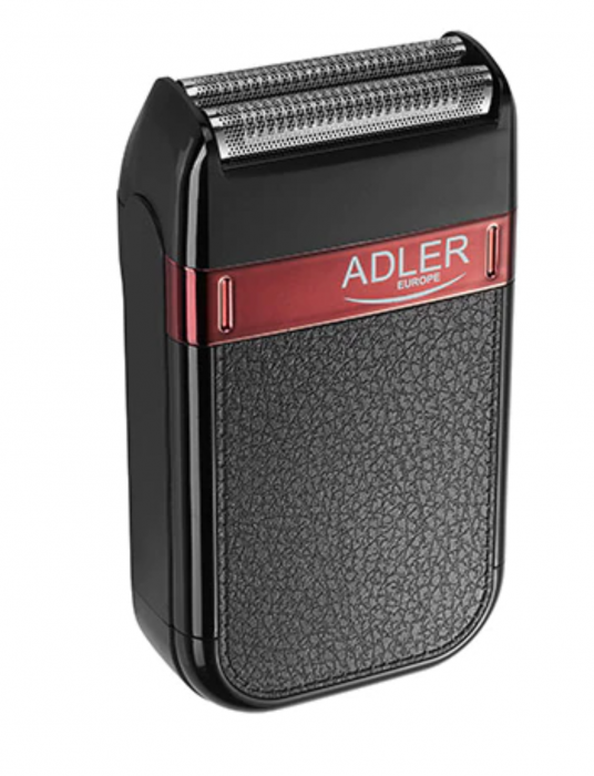 AD2923, Mini aparat de ras electric fara fir ADLER, umed sau uscat, autonomie 45 minute, rezistent la apa [0]