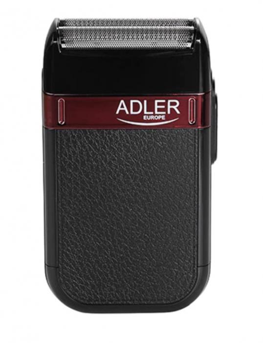 AD2923, Mini aparat de ras electric fara fir ADLER, umed sau uscat, autonomie 45 minute, rezistent la apa [1]