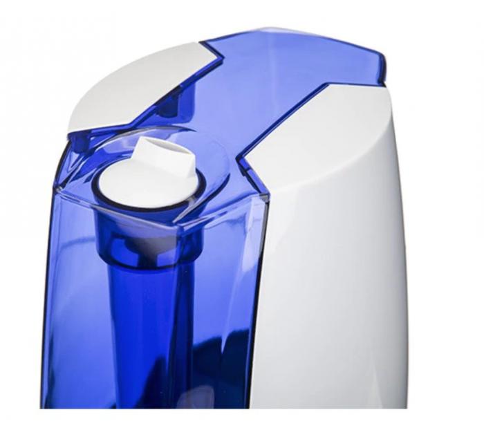 CR7952, Umidificator de aer cu ultrasunete Camry, 5.2 l, Ionizare, Timer, 25m2, 17 h, Alb-albastru [1]