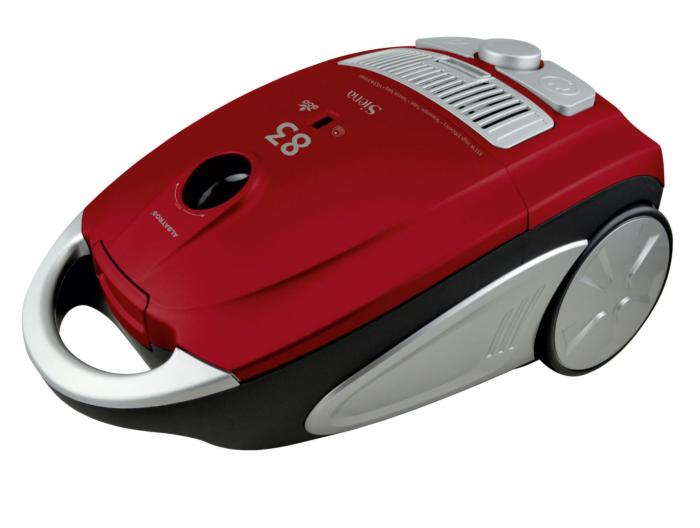 Aspirator Albatros Siena 83 Eco, cu sac, aspirare uscata, filtru Hepa, functie soft start, 3.5 l, 833 W [0]
