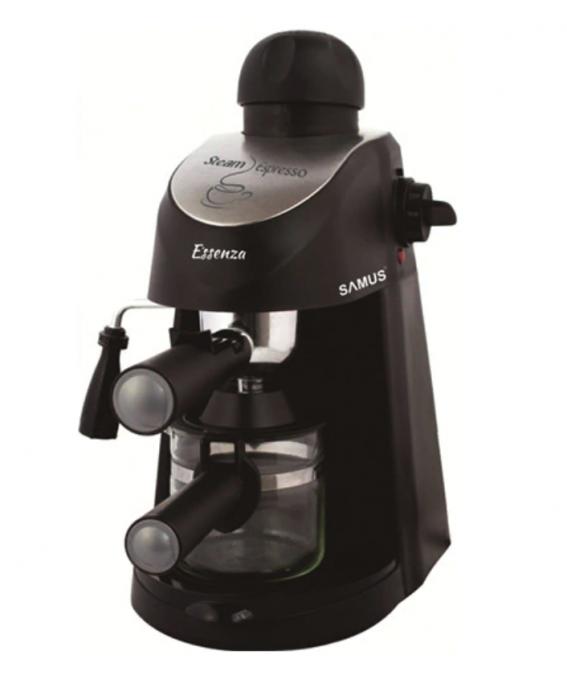 Espressor Samus Essenza 3.5 bar, 800 W, Negru [0]