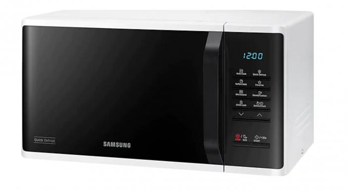Cuptor cu microunde Samsung MS23K3513AW/OL, 23 l, 800 W, Digital, Touch control, Alb [4]