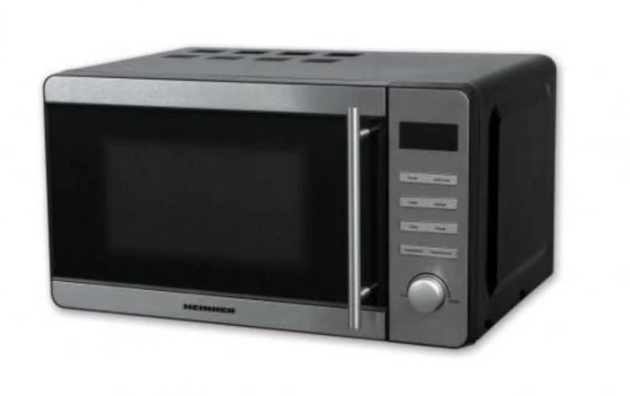 Cuptor cu microunde Heinner HMW-20DBKSS, 20 l, 700 W, Digital, Grill, Timer, Negru/Inox [0]