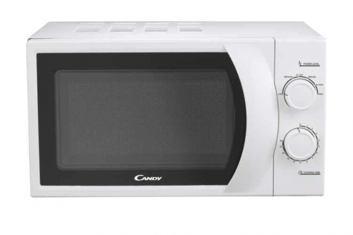 Cuptor cu microunde Candy CMW 2070, 700 W, 20 l, Mecanic, Start Express, Child lock, Alb [0]