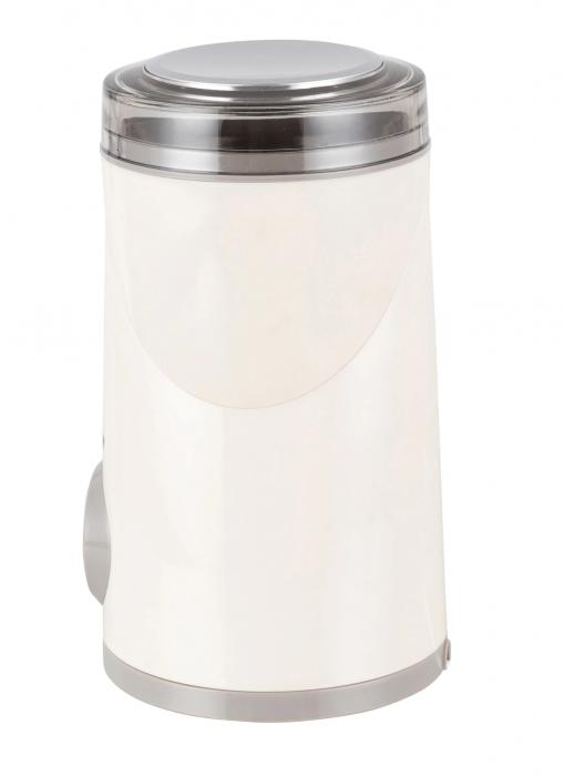 Rasnita de cafea Heinner HCG-150P, 150W, 50 g, Alb [2]