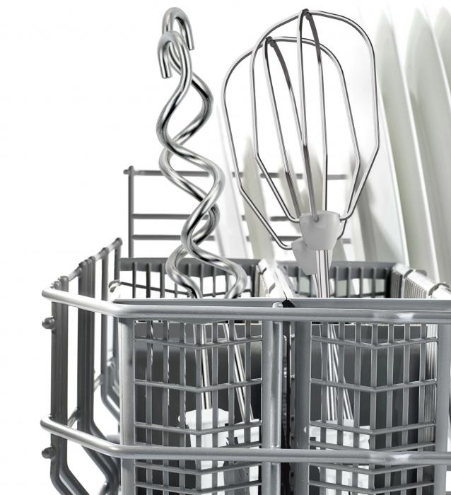 Mixer de mana Bosch MFQ3030, 350W, 4 trepte de viteza+tubo, Accesorii: 2 spirale, 2 teluri [5]