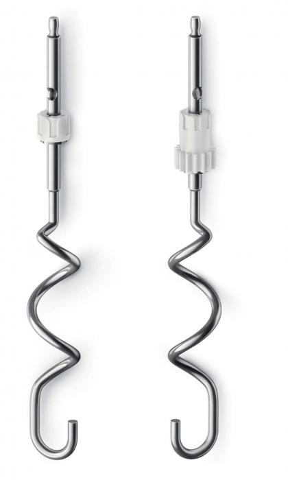 Mixer de mana Philips HR1552/12, 250 W, 5 viteze, Functie Turbo, Rosu [3]