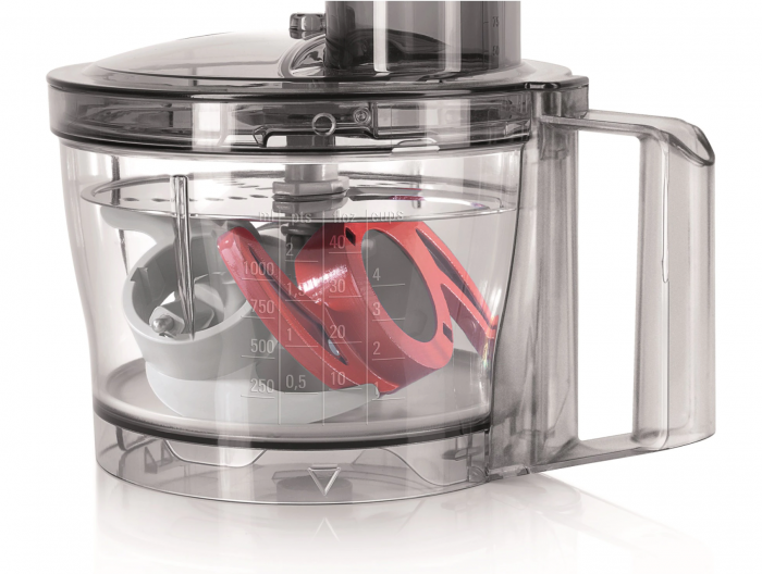 Robot de bucatarie Bosch MCM3200W, 800 W, bol 2.3 l, blender 1 l, 2 viteze, Alb/Gri [5]