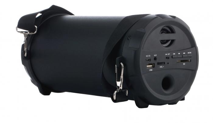 Boxa portabila Akai, ABTS-11B, 10W, Bluetooth, Radio, Negru [1]