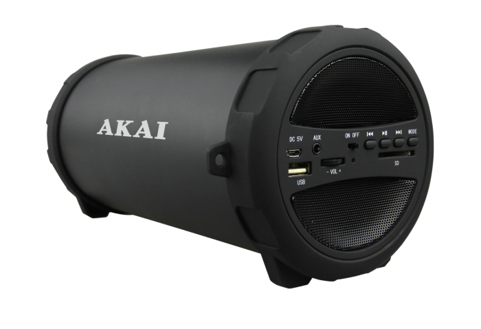 Boxa portabila Akai, ABTS-11B, 10W, Bluetooth, Radio, Negru [2]