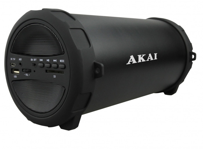 Boxa portabila Akai, ABTS-11B, 10W, Bluetooth, Radio, Negru [3]